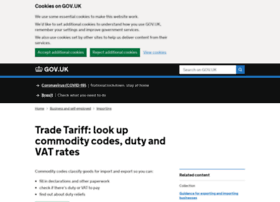tariff.businesslink.gov.uk