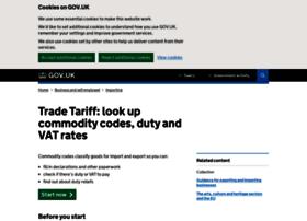tariff.businesslink.gov.uk