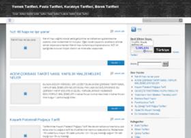 tarifsina.com