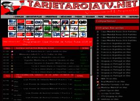 tarjetarojatv.net