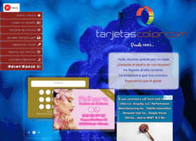 tarjetascolor.com