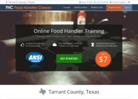 tarrantcotx.foodhandlerclasses.com
