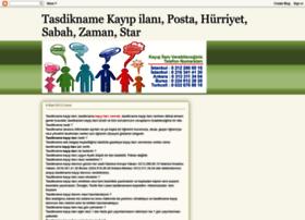 tasdiknamekayipilani.blogspot.com
