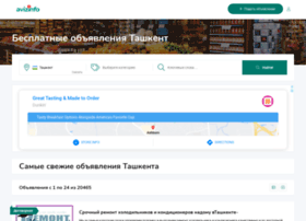 tashkent.avizinfo.uz