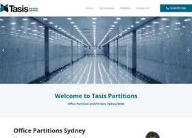 tasispartitions.com.au