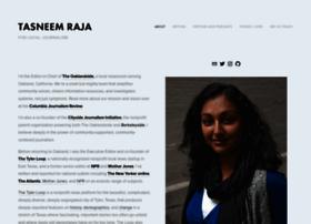 tasneemraja.com