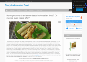 Tasty-indonesian-food.com