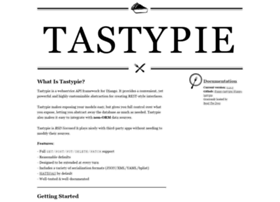 tastypieapi.org