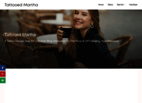 tattooedmartha.com