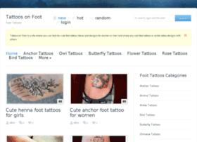 tattoosonfoot.com