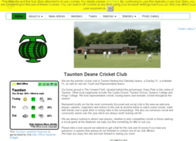tauntondeane.play-cricket.com