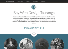 taurangawebdesign.co.nz