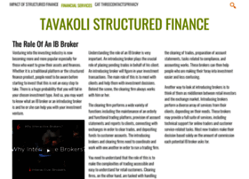 tavakolistructuredfinance.net