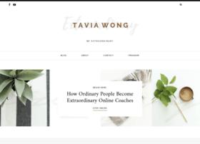taviawong.com