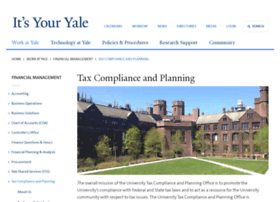 tax.yale.edu