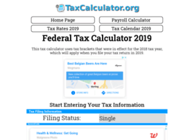 taxcalculator.org