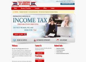 taxcentersofamerica.com