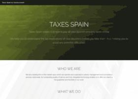taxesspain.com