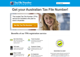 how to receive a tax file number