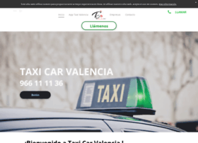 taxi-car-valencia.es