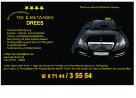 taxi-drees.de