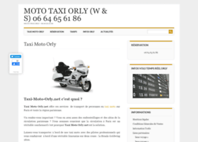 taxi-moto-orly.net