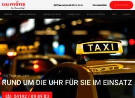 taxi-pfeiffer.de
