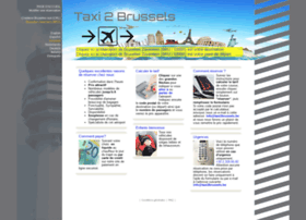 taxi2brussels.be
