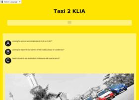 taxi2klia2.com