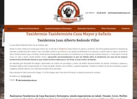 taxidermiadisecado.com