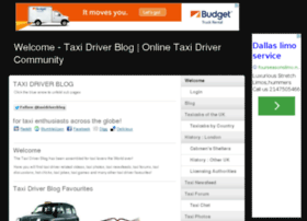 taxidriverblog.co.uk