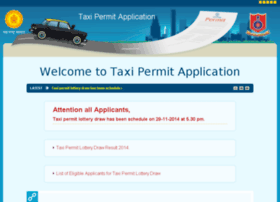 taxipermit.mahaonline.gov.in