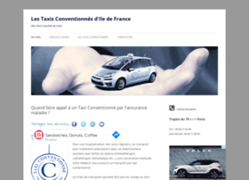 taxis-conventionnes-idf.fr