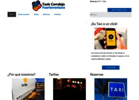 taxiscorralejo.com