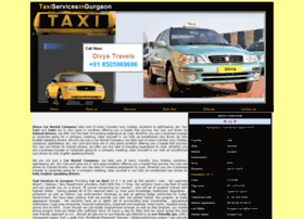 taxiservicesingurgaon.com