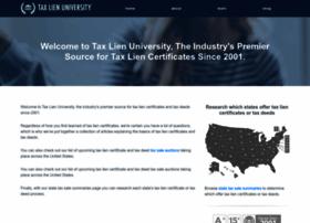 taxlienuniversity.com