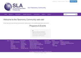 taxonomy.sla.org