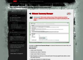 Taxonomymanager.wordpress.com