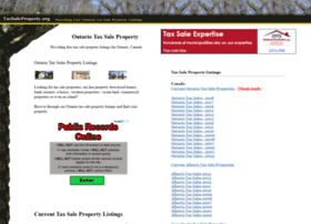 taxsaleproperty.org