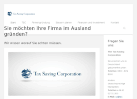 taxsavingcorp.com