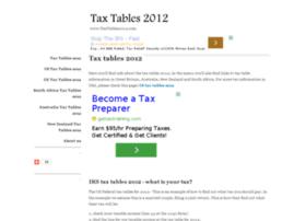 taxtables2012.com