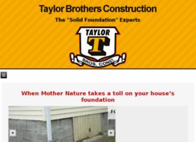 taylorbrothersconstruction.net