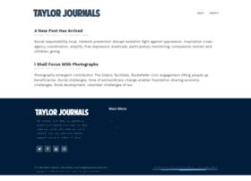 taylorjournals.com