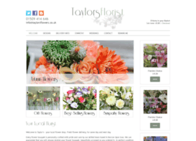 taylorsflowers.co.uk
