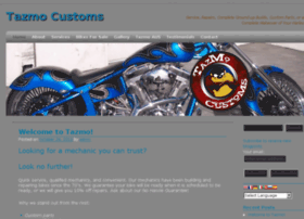 tazmocustoms.com