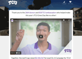 tcugivesday.tcu.edu