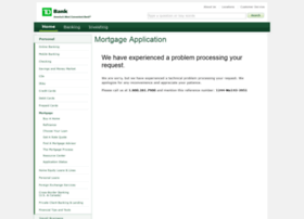 tdbank.mortgagewebcenter.com