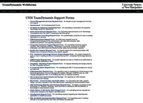 tdforms.unh.edu
