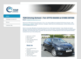 tdrdrivingschool.co.uk