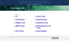 te-travel.net